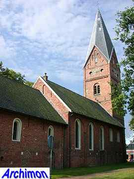 Haren (Gr): reformed church