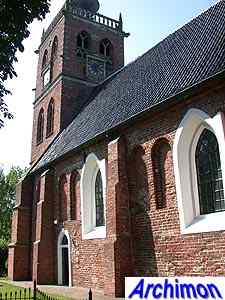 Noordwolde (Gr): reformed church