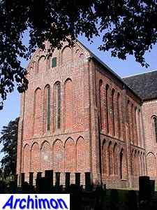 Zuidbroek (Gr): reformed church or St. Petrus